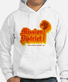 Mission District Hoodie (White)
