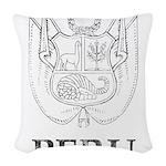 Vintage Peru Woven Throw Pillow