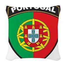 Portugal Woven Throw Pillow