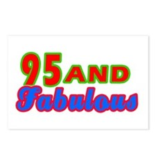 95 and fabulous Postcards (Package of 8)