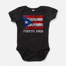 Vintage Puerto Rico Baby Bodysuit
