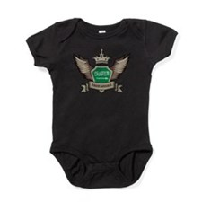 Saudi Arabia Emblem Baby Bodysuit