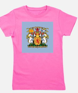 Scotland Coat Of Arms Girl's Tee