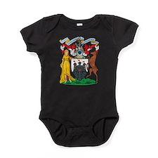 Edinburgh Coat Of Arms Baby Bodysuit