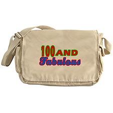 100 and fabulous Messenger Bag