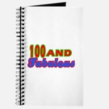 100 and fabulous Journal