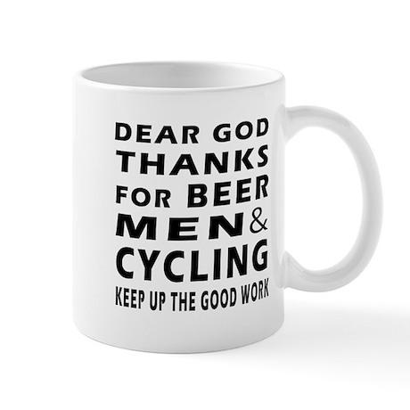 Beer Men and Curling Mug