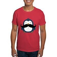 Mustache Penguin Trend T-Shirt