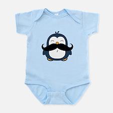 Mustache Penguin Trend Infant Bodysuit
