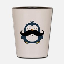 Mustache Penguin Trend Shot Glass
