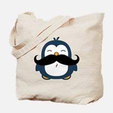 Mustache Penguin Trend Tote Bag