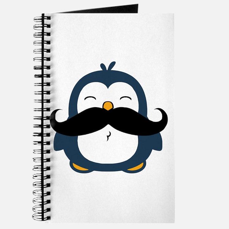 Mustache Penguin Trend Journal