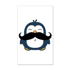 Mustache Penguin Trend Wall Decal