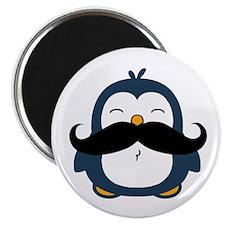 Mustache Penguin Trend Magnet