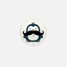 Mustache Penguin Trend Mini Button (100 pack)