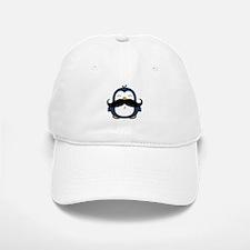 Mustache Penguin Trend Baseball Baseball Cap