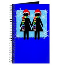 Double Female Xmas Journal