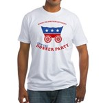 Strk3 Donner Party Fitted T-Shirt