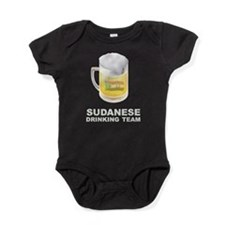 Sudanese Drinking Team Baby Bodysuit