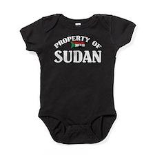 Property Of Sudan Baby Bodysuit