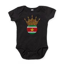 King Of Suriname Baby Bodysuit