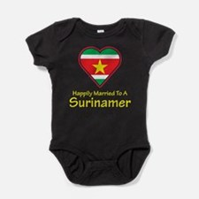 Happily Married Surinamer Baby Bodysuit