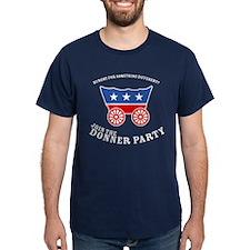 Strk3 Donner Party Dark Shirt T-Shirt
