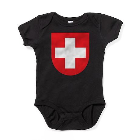 Switzerland Coat Of Arms Baby Bodysuit