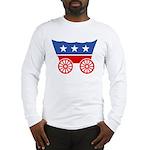 Strk3 Donner Party Logo Long Sleeve T-Shirt