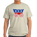 Strk3 Donner Party Logo Ash Grey T-Shirt