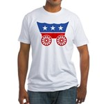 Strk3 Donner Party Logo Fitted T-Shirt