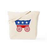 Strk3 Donner Party Logo Tote Bag