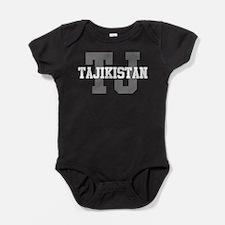 TJ Tajikistan Baby Bodysuit
