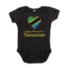 Happily Married Tanzanian Baby Bodysuit