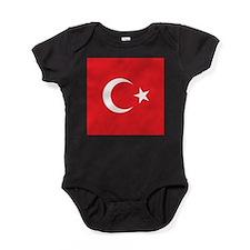 Turkey Flag Baby Bodysuit