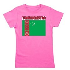 Turkmenistan Girl's Tee