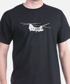 CH-47 Chinook on T-Shirt