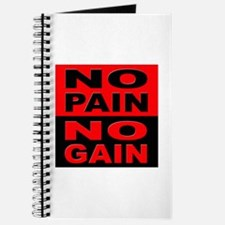 No Pain No Gain Journal