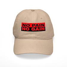 No Pain No Gain Baseball Cap
