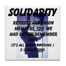Solidarity Retirees Are Union Members Too Tile Coa