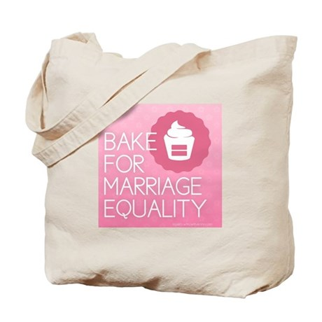 I Bake for Marriage Equality Tote Bag