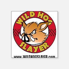Wild Hog Hunters Worldwide Sticker