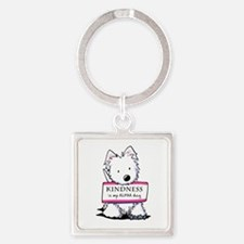 Vital Signs: KINDNESS Square Keychain