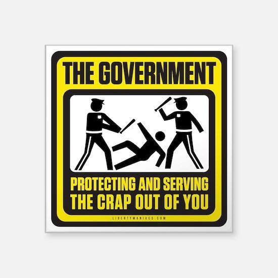 The Government Sticker