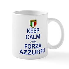 Keep Calm and Forza Azzurri Mug
