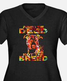 PUNISH THE DEED NOT THE BREED TD2E Plus Size T-Shi