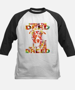 PUNISH THE DEED NOT THE BREED TD2E Baseball Jersey