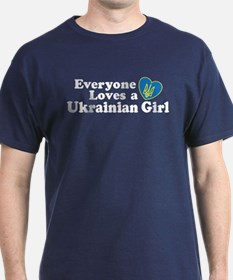 Everyone Loves a Ukrainian Gi T-Shirt
