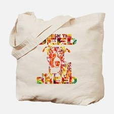 PUNISH THE DEED NOT THE BREED TD2E Tote Bag