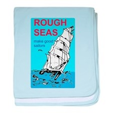 Rough Seas baby blanket